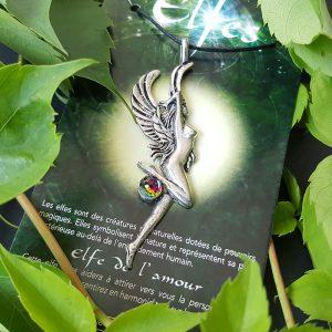Pendentif Elfe de l'Amour