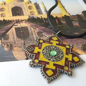 Amulette Bouddha Mandala