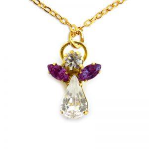 Ange de cristal Améthyste