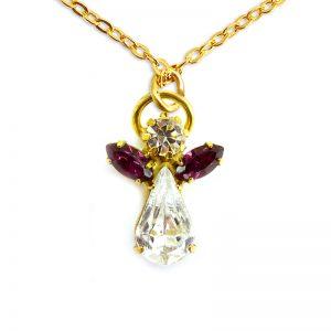 Ange de cristal Rubis