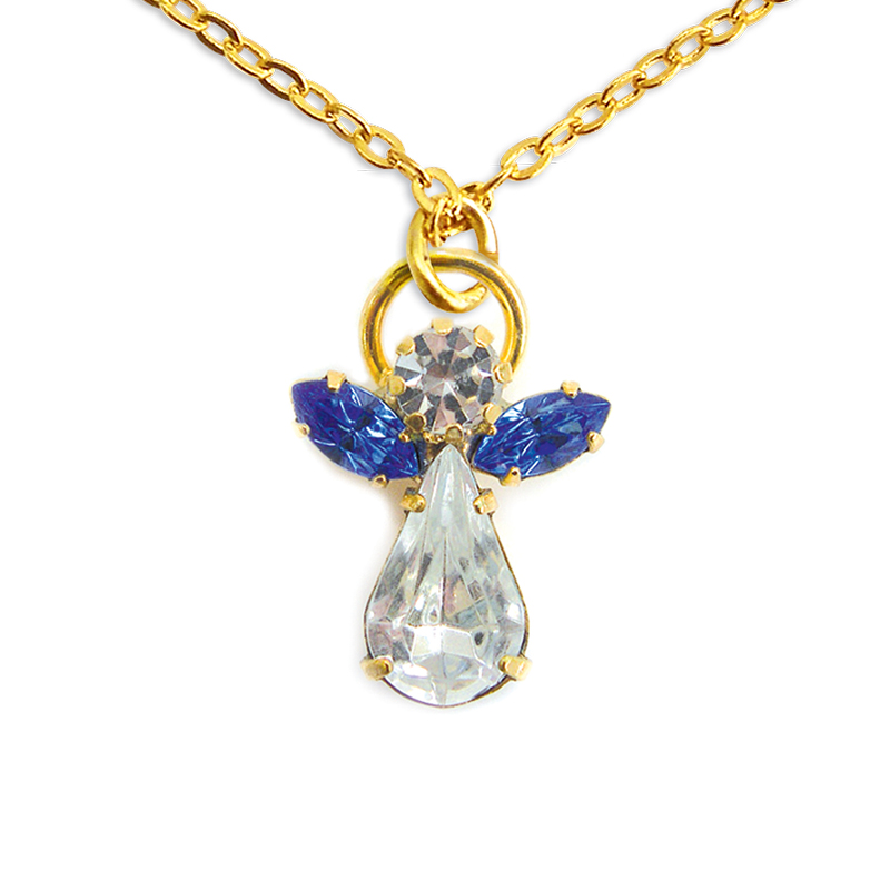 Ange de cristal Saphir