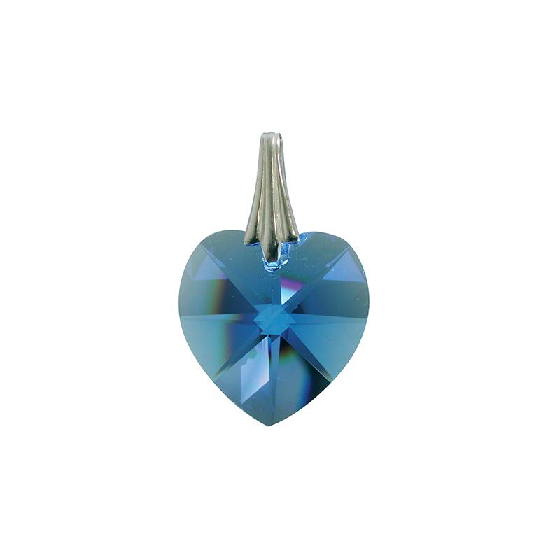 Coeur de Cristal - Bleu