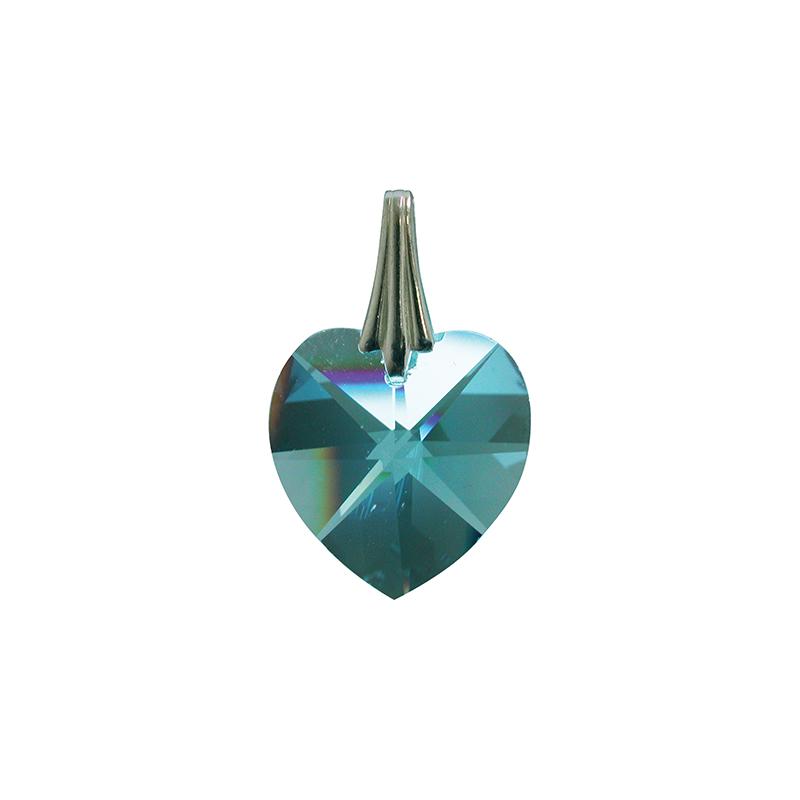 Coeur de Cristal - Turquoise