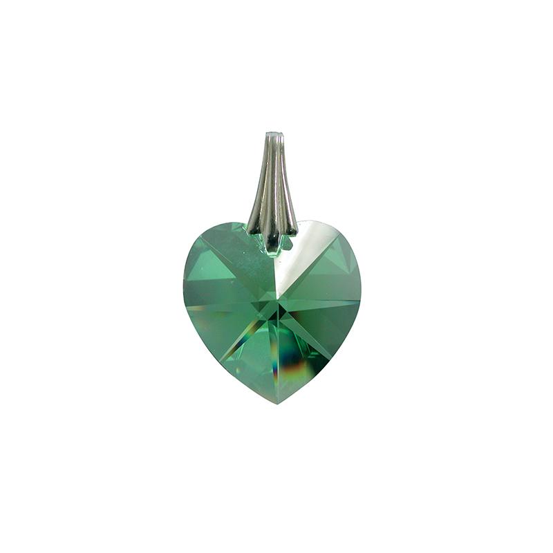 Coeur de Cristal - Vert