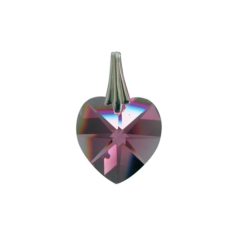 Coeur de Cristal - Violet clair