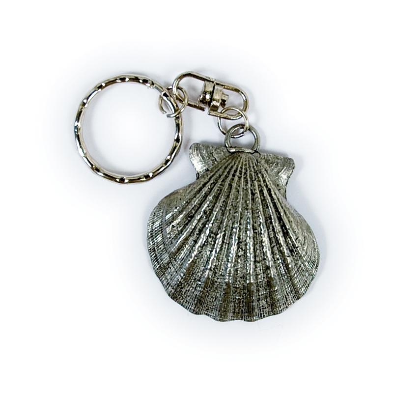 Porte clefs coquille saint jacques de compostelle for Portent une coquille