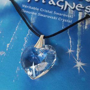 Coeur de cristal des montagnes