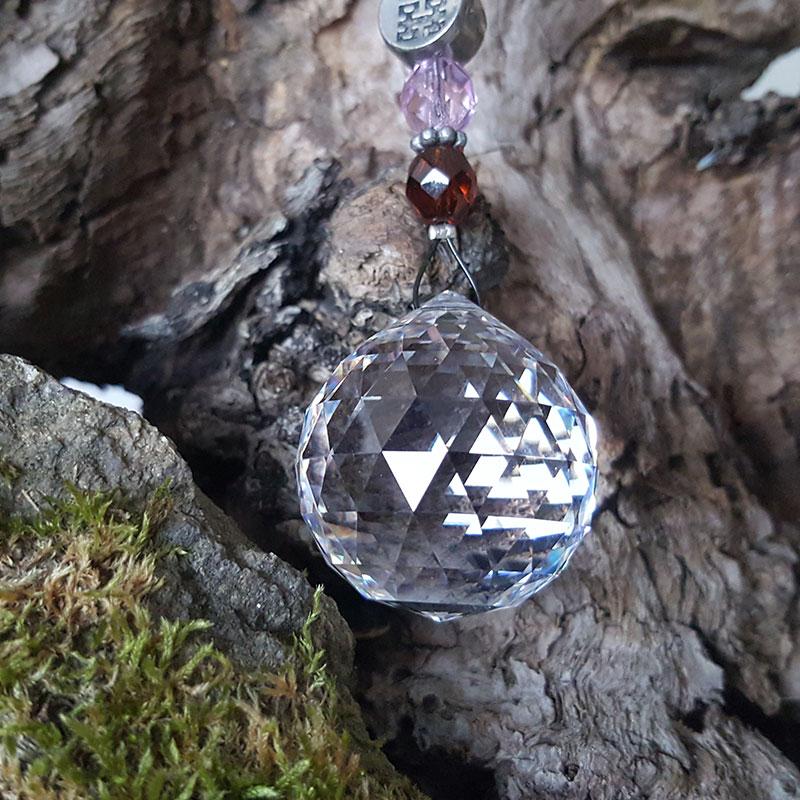 Cristal Solaire Double Bonheur