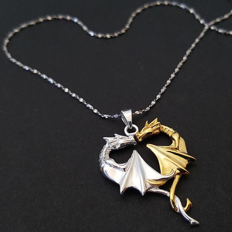 Coeur de Dragon argent 925