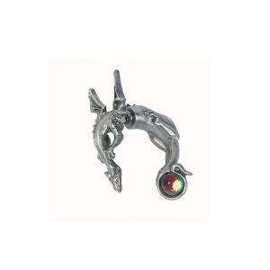 Boucle d'oreille piercing Dragon