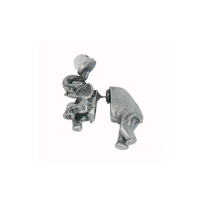 Boucle d'oreille piercing Éléphant