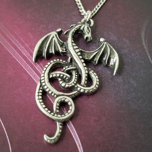 Pendentif Celte Dragon Nidhogg