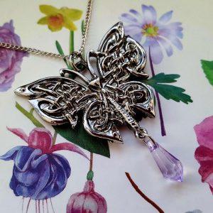 Pendentif Celte Papillon de Morrigan