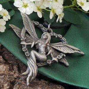 Pendentif Elfe au Coeur