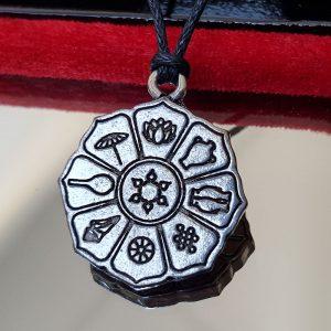 Pendentif les 8 symboles de protection