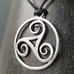 Pendentif Triskell Celte