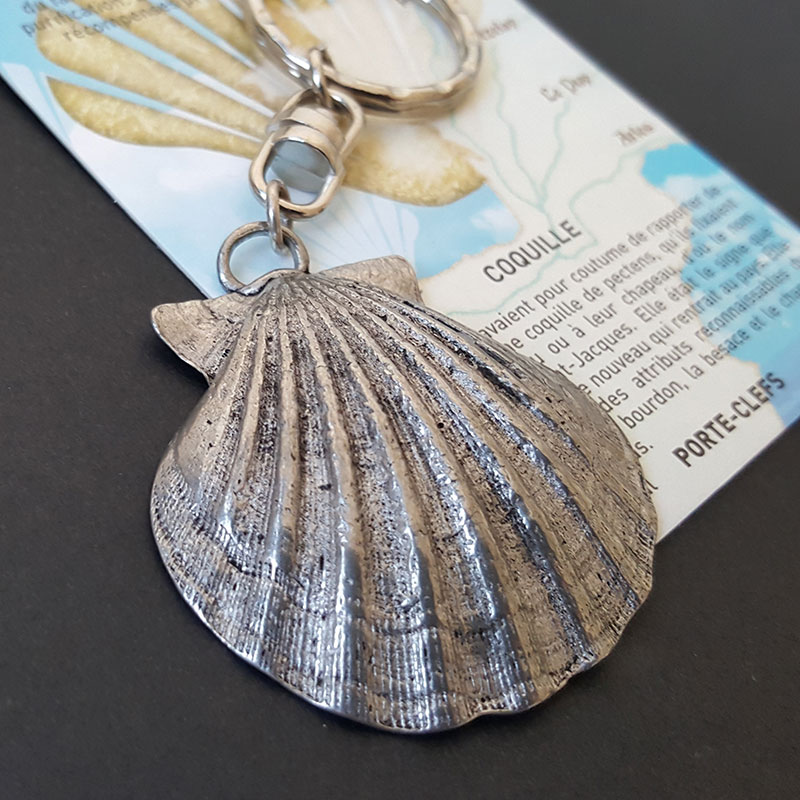 Porte-clefs Coquille