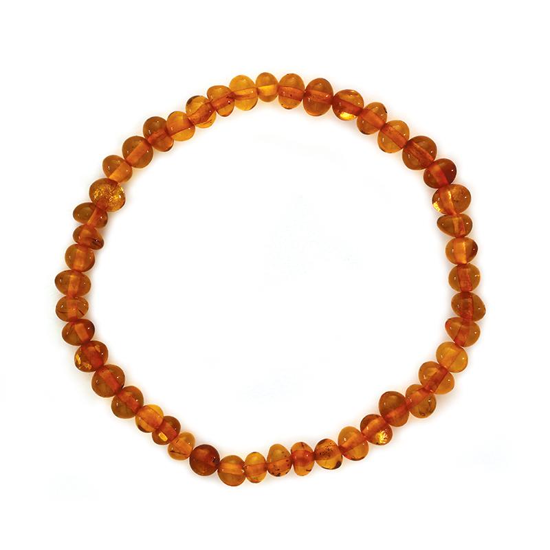 Bracelet d'ambre - Olivettes