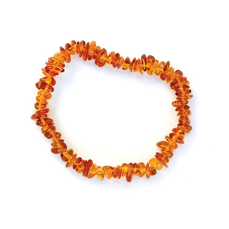 Bracelet d'ambre - Petits galets