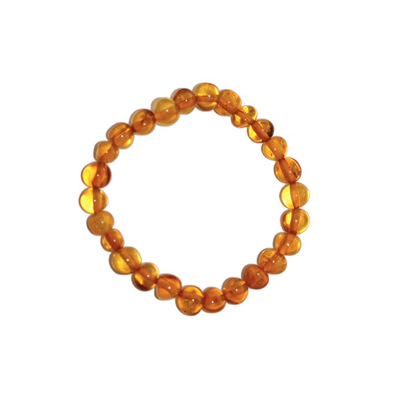 Bracelet d'ambre enfant - Olivettes