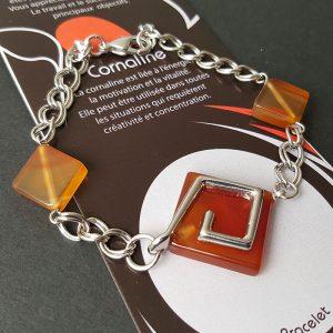 Bracelet Cornaline Terre