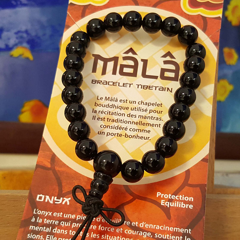 Bracelet Mala Onyx