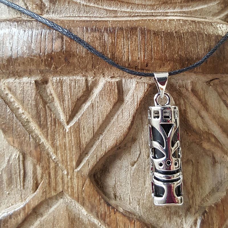Pendentif Polynésien Tiki Chance
