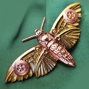 Broche Steampunk Magradore's Moth