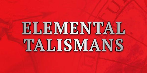 Elemental Talismans