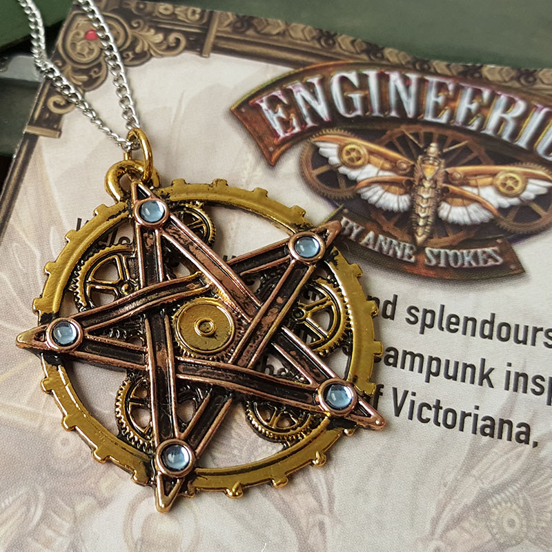 Pendentif Penta Meridia Steampunk