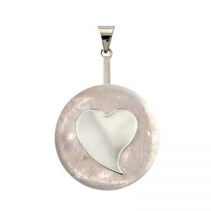 DUO Coeur Cristal de roche