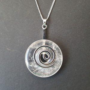 DUO Cristal de roche Spirale