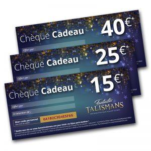 Chèques Cadeaux Fantastic Talismans