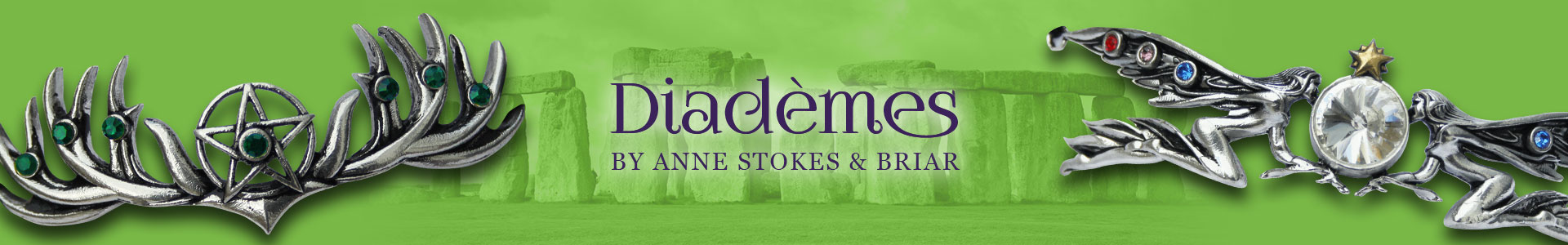 Diadèmes by Anne Stokes & Briar