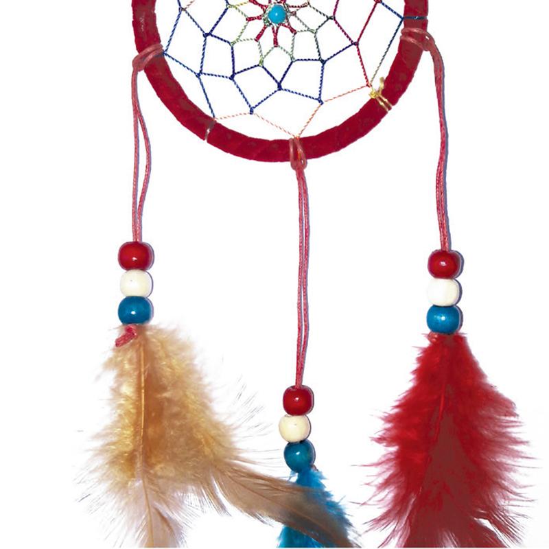 attrape r ve navajo suspension rouge grand mod le fantastic talismans. Black Bedroom Furniture Sets. Home Design Ideas